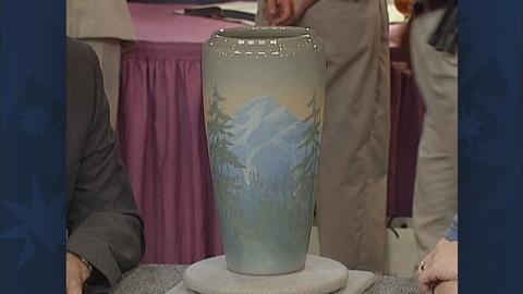 Antiques Roadshow -- S19 Ep28: Appraisal: 1911 Rookwood Iris Glaze Vase