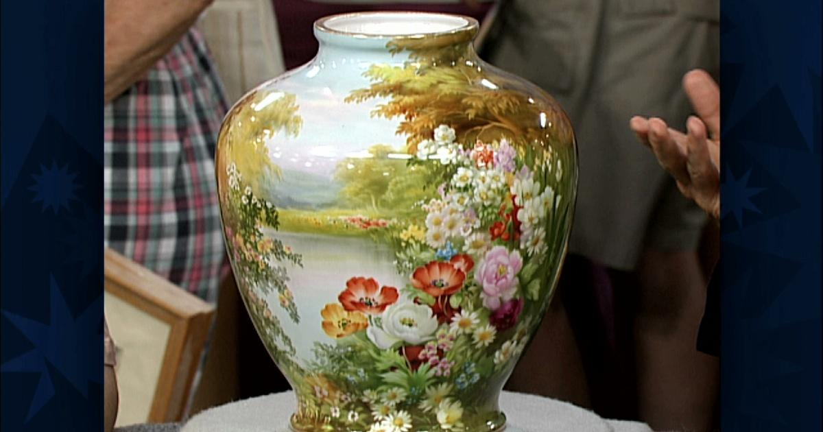 Appraisal Noritake Vase Ca 1920 Antiques Roadshow Pbs