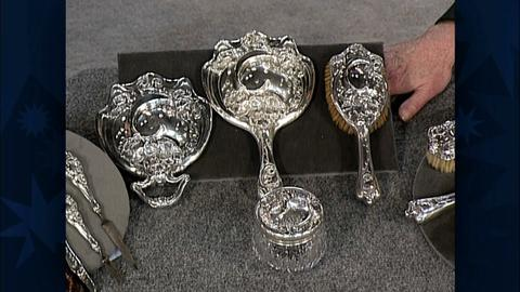 Antiques Roadshow -- S19 Ep29: Appraisal: Unger Bros. Dresser Set, ca. 1900