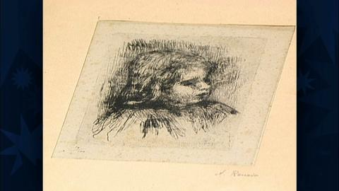 Antiques Roadshow -- S19 Ep29: Appraisal: First State Renoir Etching, ca. 1903
