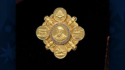 Antiques Roadshow -- S19 Ep29: Appraisal: 1897 Tiffany Utah Jubilee Pin