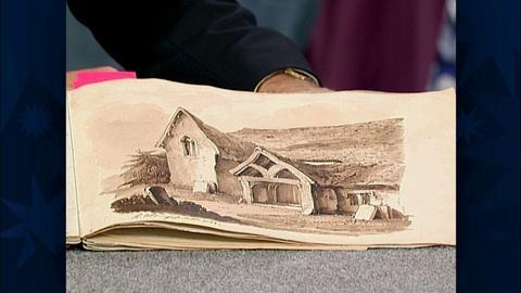 Antiques Roadshow -- S19 Ep29: Appraisal: H.W. Burgess Portfolio, ca. 1833