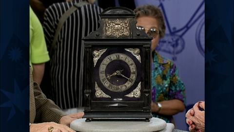 Antiques Roadshow -- S19 Ep29: Appraisal: Dutch Pendulum Clock, ca. 1690