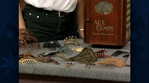 Antiques Roadshow -- S19 Ep29: Appraisal: Hair Comb Collection & Box