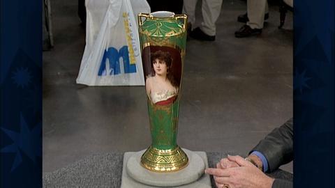 Antiques Roadshow -- S19 Ep29: Appraisal: Dresden Porcelain Vase, ca. 1910