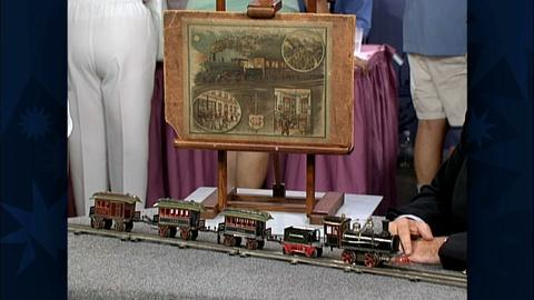 Antiques Roadshow -- S19 Ep29: Appraisal: Märklin O-Gauge Train Set