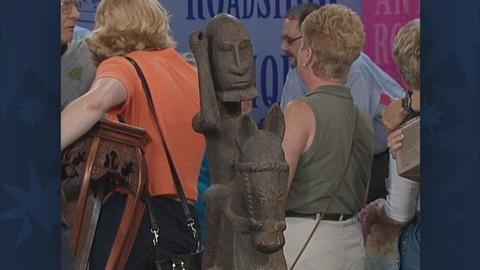 Antiques Roadshow -- S19 Ep30: Appraisal: Dogon-Style Equestrian Figure