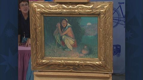 Antiques Roadshow -- S19 Ep30: Appraisal: 1920 Eanger Irving Couse Oil