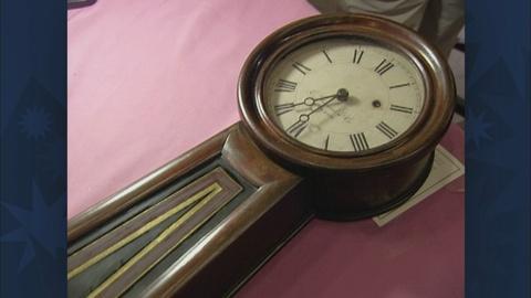 Antiques Roadshow -- S19 Ep30: Appraisal: Banjo Clock, ca. 1865
