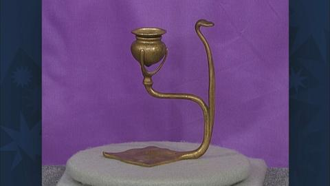 Antiques Roadshow -- S19 Ep30: Appraisal: Tiffany Candlestick, ca. 1920