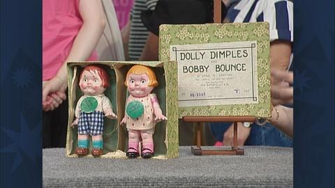 Antiques Roadshow -- S19 Ep30: Appraisal: Dolly Dimples & Bobby Bounce Dolls