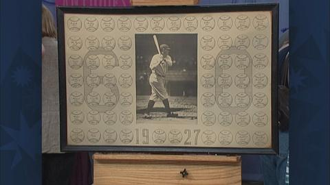 Antiques Roadshow -- S19 Ep30: Appraisal: Babe Ruth-Signed Home Run Piece