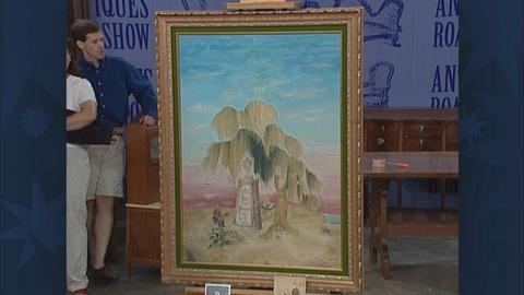 Antiques Roadshow -- S19 Ep30: Appraisal: American Mourning Picture
