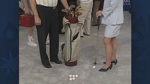 Antiques Roadshow -- S19 Ep26: Appraisal: Jackie Gleason's Golf Set