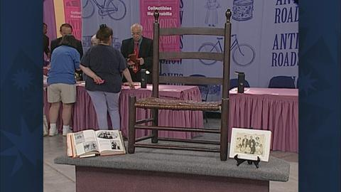 Antiques Roadshow -- S19 Ep26: Appraisal: Chang Bunker's Chair, ca. 1850