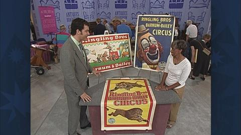 Antiques Roadshow -- S19 Ep26: Appraisal: Circus Poster Collection