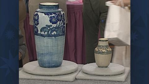 Antiques Roadshow -- S19 Ep26: Appraisal: Newcomb College Vases