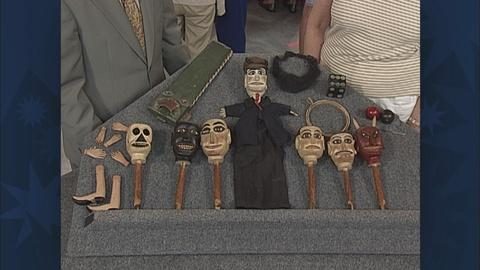 Antiques Roadshow -- S19 Ep26: Appraisal: Folk Art Puppets & Accessories