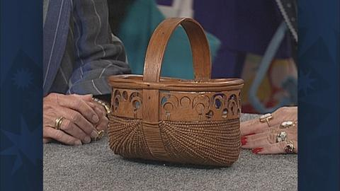 Antiques Roadshow -- S19 Ep26: Appraisal: 19th-Century Southern Basket