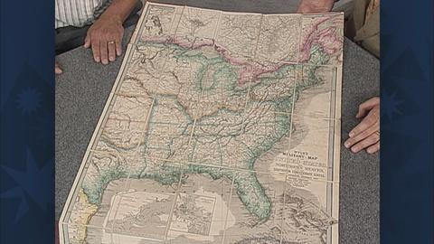 Antiques Roadshow -- S19 Ep26: Appraisal: 1861 Wyld's Military Map of the U.S.