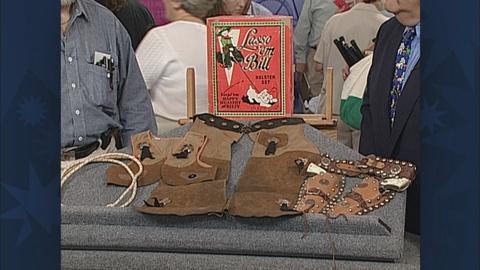 """Antiques Roadshow -- S19 Ep26: Appraisal: """"Lasso 'em Bill"""" Cowboy Set"""