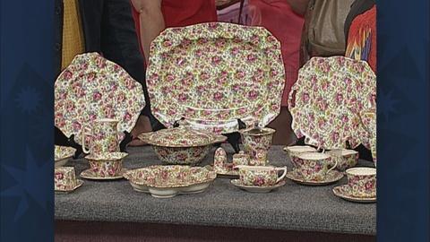 Antiques Roadshow -- S19 Ep26: Bonus Video: Royal Winton Chintz Dinnerware