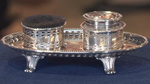Antiques Roadshow -- S19: Web Appraisal: Old Sheffield Plate Pounce Pot, ca. 1775
