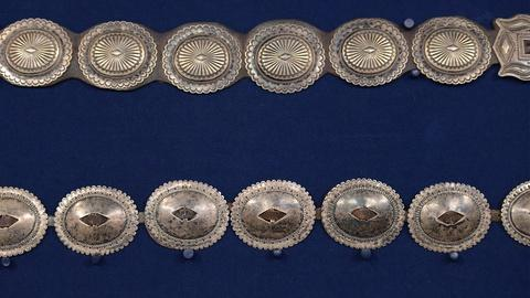 Antiques Roadshow -- S19 Ep19: Appraisal: Navajo Silver Concho Belts