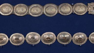 Appraisal: Navajo Silver Concho Belts