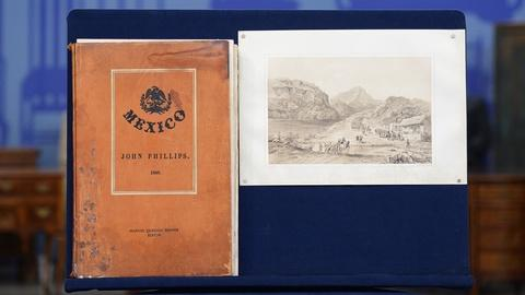 "Antiques Roadshow -- S19 Ep19: Appraisal: 1848 John Phillips ""Mexico"" Book"