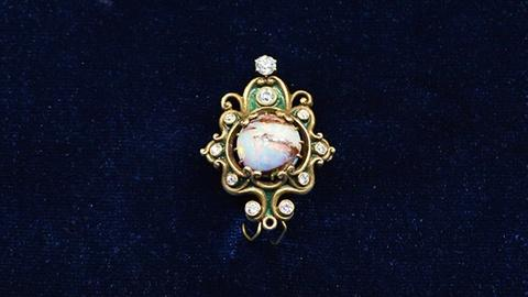 Antiques Roadshow -- S19 Ep19: Appraisal: Marcus & Co. Opal Pin, ca. 1925