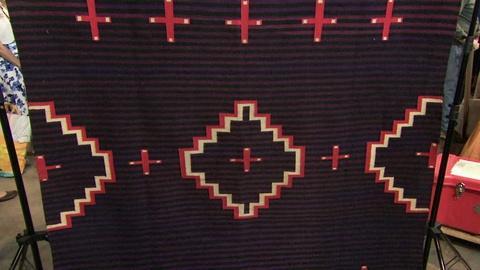 Antiques Roadshow -- S19 Ep19: Appraisal: Navajo Germantown Wool Rug, ca. 1890