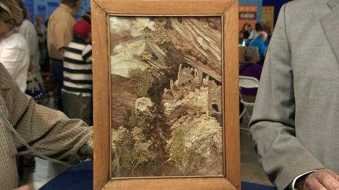 Antiques Roadshow -- S19 Ep19: Appraisal: Pansy Stockton Sun Painting, ca. 1950