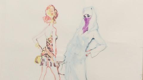Antiques Roadshow -- S19: Web Appraisal: 1970 LeRoy Neiman Painting