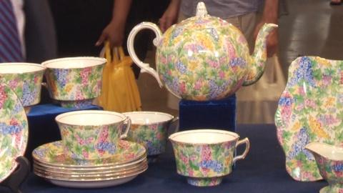 Antiques Roadshow -- S19: Web Appraisal: English Chintz Somerset Pattern Tea Serv