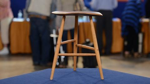 Antiques Roadshow -- S19 Ep20: Appraisal: 1960 Wharton Esherick Stool