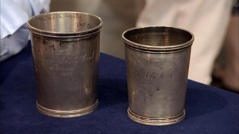 Antiques Roadshow -- S19 Ep20: Appraisal: Louis zur Megede Silver Mint Julep Cups