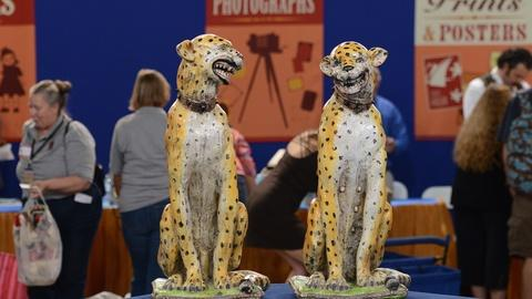 Antiques Roadshow -- S19 Ep21: Appraisal: 19th-Century Italian Majolica Big Cats
