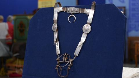 Antiques Roadshow -- S19 Ep21: Appraisal: Navajo Silver Bridle, ca. 1870
