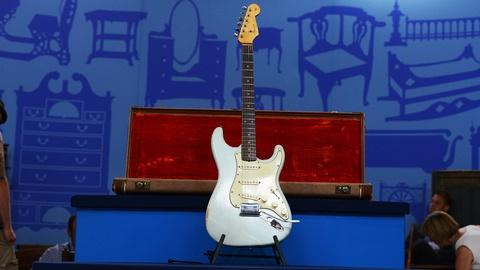 Antiques Roadshow -- S19 Ep21: Appraisal: 1962 Sonic Blue Fender Stratocaster