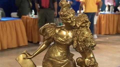 Antiques Roadshow -- S19 Ep21: Appraisal: Georges Van der Straeten Sculpture, ca.