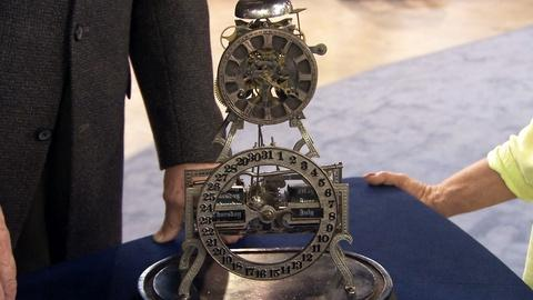 Antiques Roadshow -- S19 Ep21: Appraisal: Ithaca Box Skeleton Clock, ca. 1890