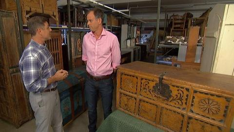 Antiques Roadshow -- S19 Ep20: Field Trip: Spanish Colonial Trunks