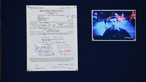 "Antiques Roadshow -- S19 Ep22: Appraisal: 1969 ""Chicago 7"" Signed Subpoena"