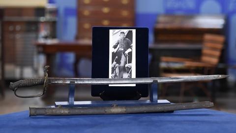 Antiques Roadshow -- S19 Ep22: Appraisal: Civil War Model 1850 Presentation Sword