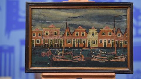 Antiques Roadshow -- S19 Ep22: Appraisal: 19th-Century Dutch Folk Art Painting