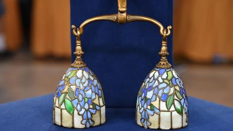 Antiques Roadshow -- S19 Ep22: Appraisal: Duffner & Kimberly Sconce, ca. 1910