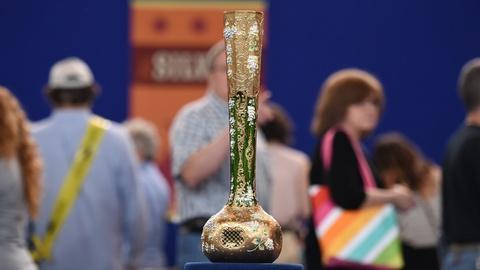 Antiques Roadshow -- S19 Ep23: Appraisal: Moser Austrian Monumental Vase, ca. 191