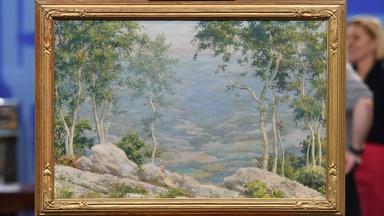 Appraisal: 1925 Charles Courtney Curran Oil