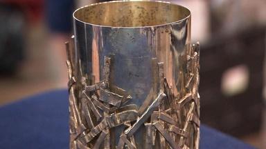 Appraisal: Schroth Silver Vase, ca. 1965